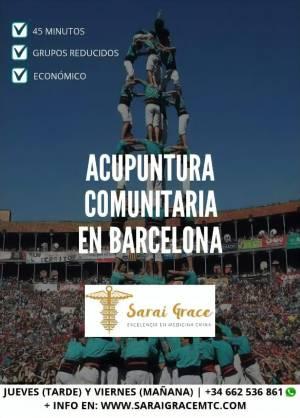 Acupuntura Comunitaria en Barcelona